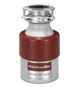 Kitchen Aid KCDB250G 1/2 HP - A Short Garbage Disposal for Deep Sink Reviewed