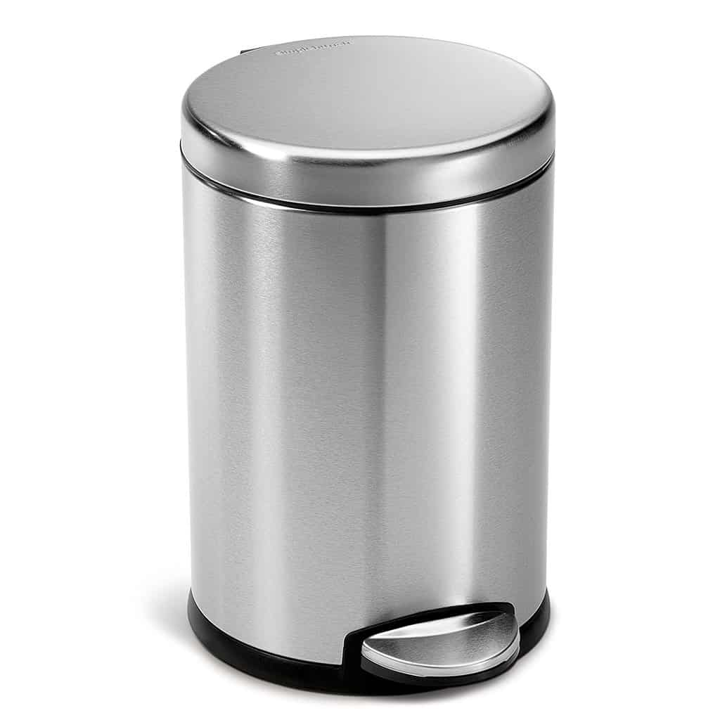 Top 6: Best Bathroom Trash Cans Review