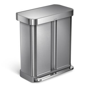 Top 6: Best Dual Compartment Trash Cans and Recyclers Review in 2017