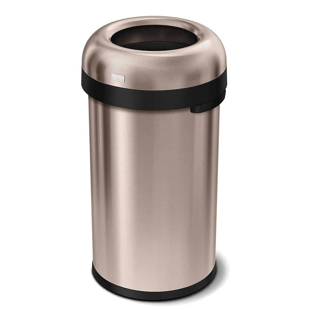 Top 5: Best Tall Kitchen Trash Cans Review for the Above Average Cook