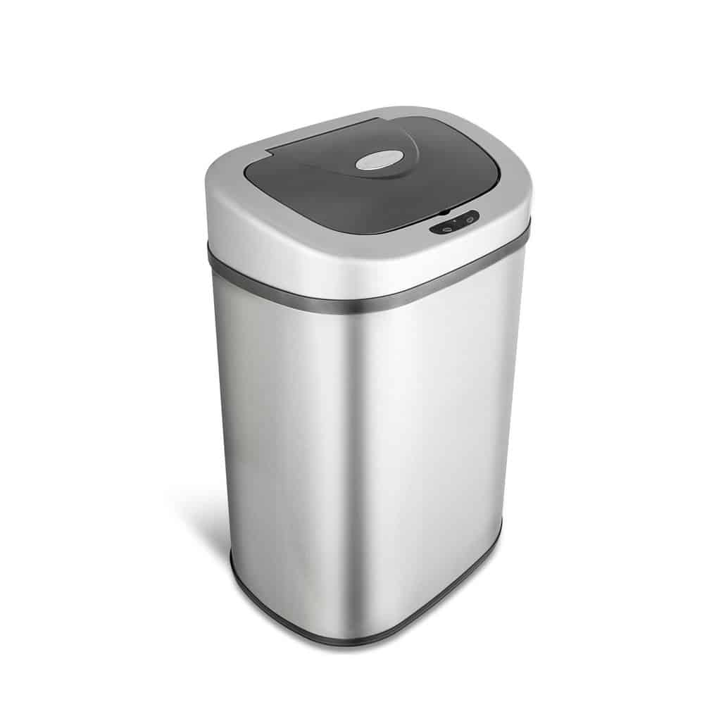 Top 5 Best Nine Stars Motion Sensor Trash Cans Reviews in 2017