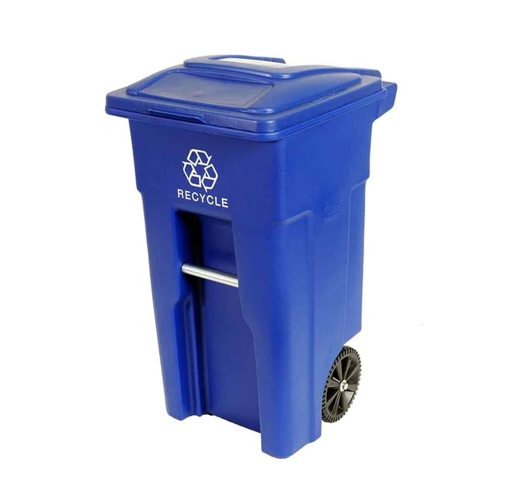 Top 8: Best Outdoor Trash Receptacles with Locking Lids and Wheels Review 2017